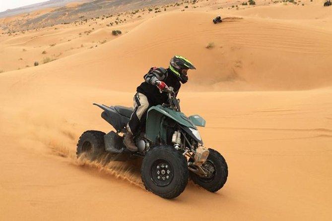Desert Safari with Quad Biking and BBQ dinner