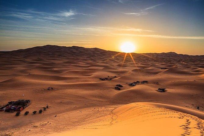Early Morning Sunrise View Desert Safari