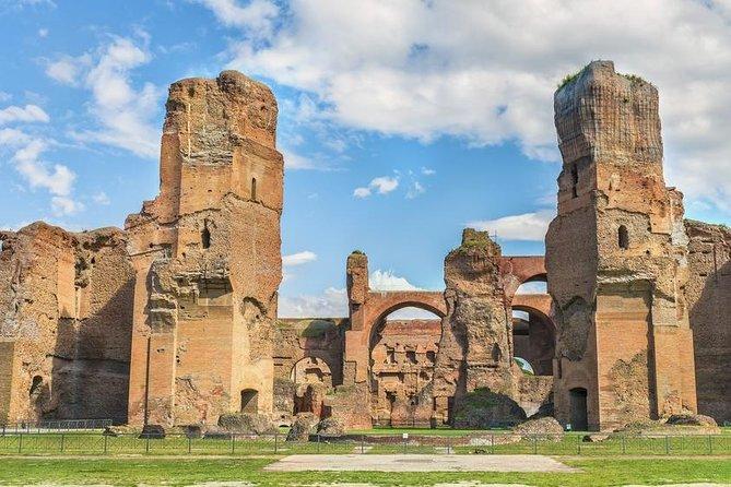 Rome Private Tour Colosseum, Baths of Caracalla and Circus Maximus VIP Entrance