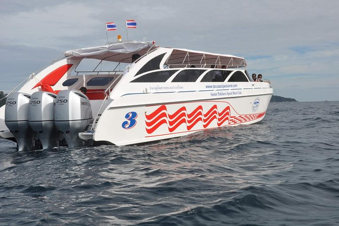 Koh Yao Yai to Koh Lanta by Satun Pakbara Speed Boat