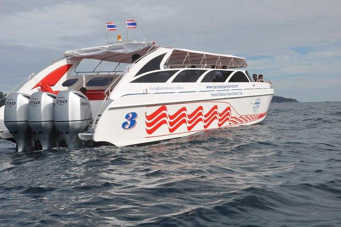 Koh Yao Yai to Koh Ngai by Satun Pakbara Speed Boat