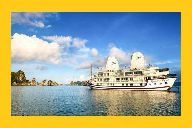 -Real Bai Tu Long Bay Experience on Singnature Royal Cruise 2D1N