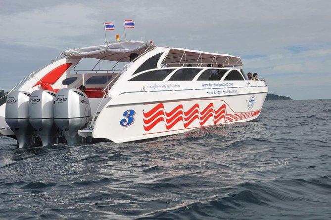 Koh Yao Yai to Koh Lipe by Satun Pakbara Speed Boat