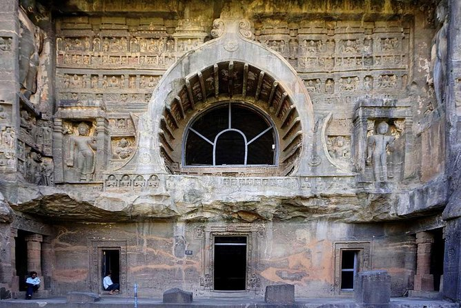 2-Days Most Popular Ajanta & Ellora Caves Private Tour With Guide And Car.