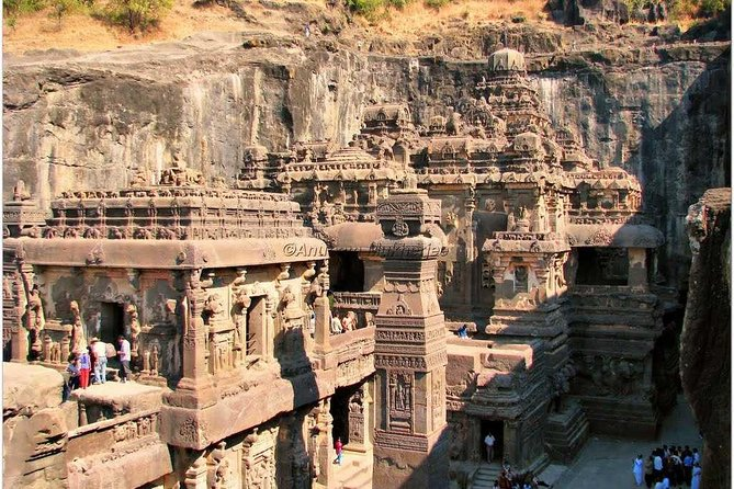 Private Car Hire for Ajanta and Ellora Caves 2-day Tour.