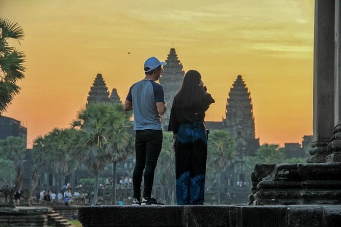 1-Day Angkor Wat Shared Tour With Sunrise Small-Group