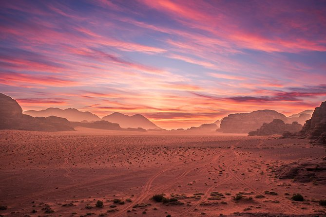 Private Full Day Trip to Wadi Rum Valley of Moon Martian Desert from Amman
