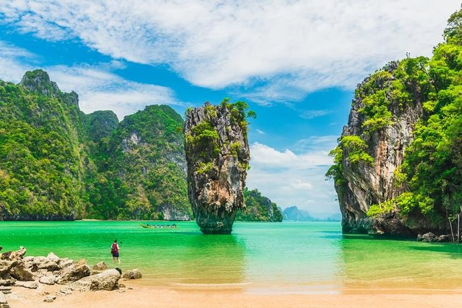 James Bond Island & Phang Nga Bay Sea Cave Canoeing by Speedboat from Phuket