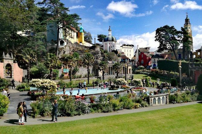 Portmeirion, Castles and Snowdonia Day Tour