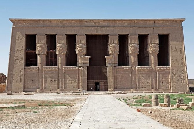 Dendara and Abydos in a Privet Tour