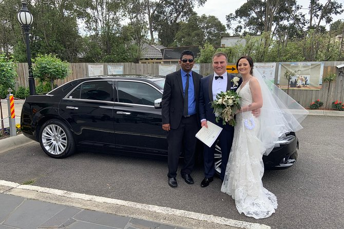 Luxury Wedding Car Hire with Chauffeur