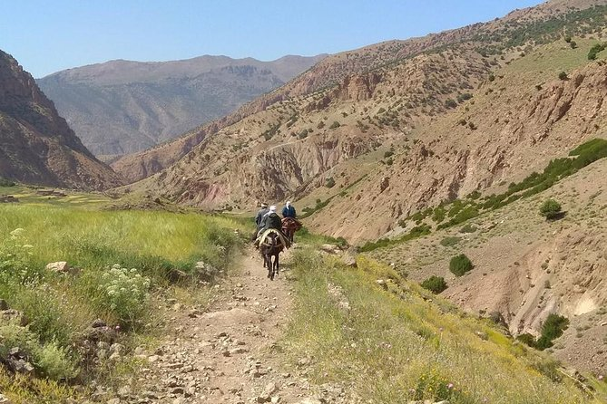 Adventure in the nature in High Atlas in Morocco