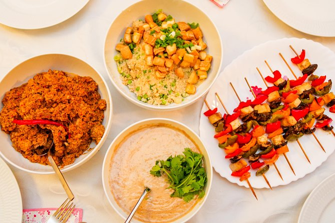 Singapore Inspired Vegan Plant Based Cooking Class
