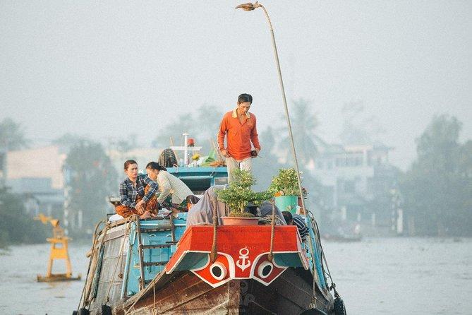 Mekong day tour Visit Cai Rang Floating Market pick up in Sai Gon