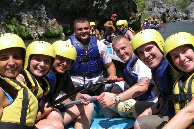 White-Water Rafting Tour from Side and Manavgat