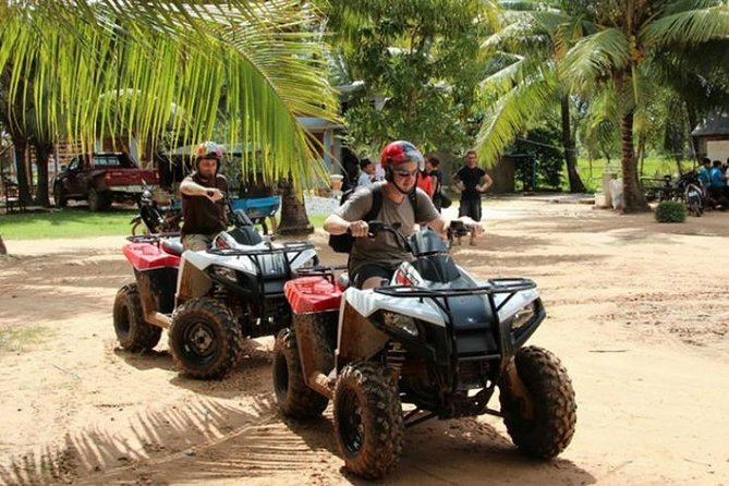 Siem Reap Quad Bike Countryside Sunset Tour 2 hours driving
