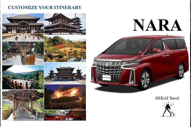 NARA by Toyota ALPHARD 2019 Customize Your Itinerary