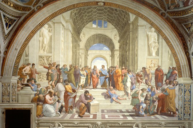Pre Booking of The Vatican Museums and the Sistine Chapel Escorted Skip the Line