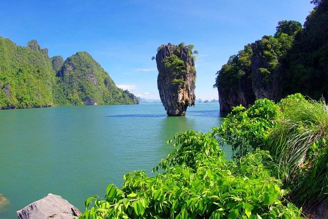 From Khao Lak: James Bond Island Big Boat with Canoeing & Swimming
