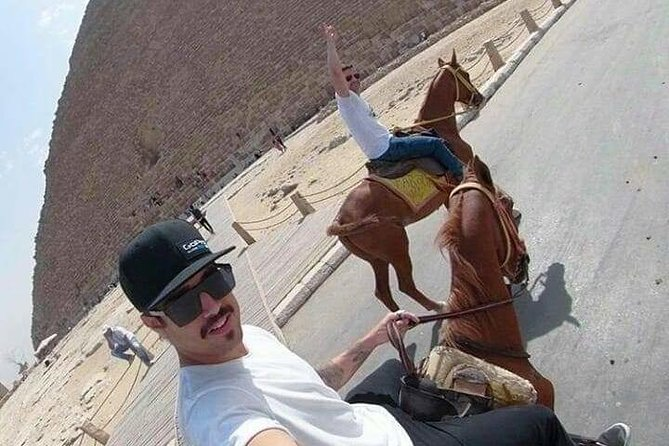 Camel Ride or Horse around the Pyramids photo 2
