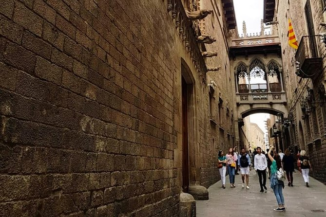 Walking tour of the Gothic Quarter of Barcelona + Cathedral