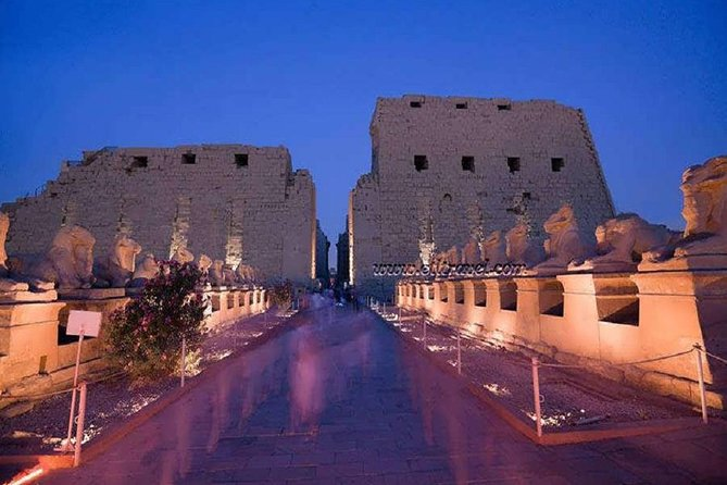 Luxor: Sound and Light Show at Karnak Temple with Transfers