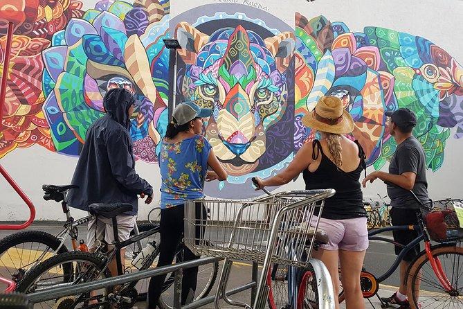 Bike around the local Art life in Jaco