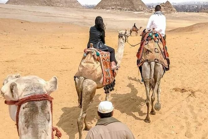 Full DAY TOUR TO GIZA PYRAMIDS WITH CAMEL RIDE AND EGYPTIAN MUSEUM IN CAIRO photo 4