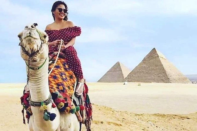 Full DAY TOUR TO GIZA PYRAMIDS WITH CAMEL RIDE AND EGYPTIAN MUSEUM IN CAIRO photo 10