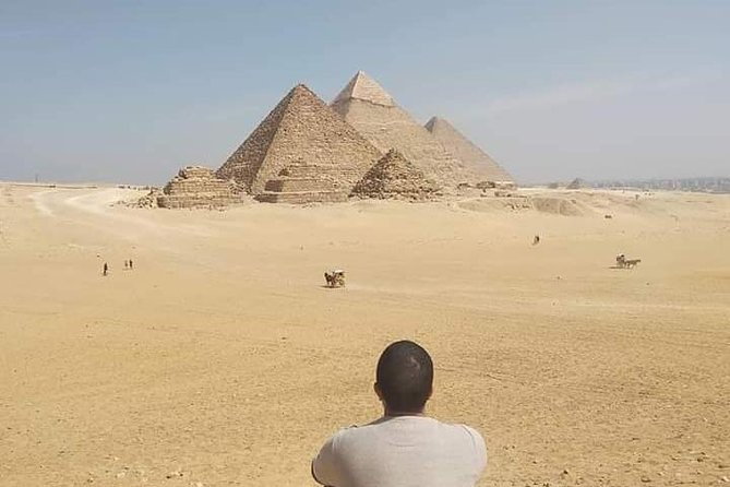 Full DAY TOUR TO GIZA PYRAMIDS WITH CAMEL RIDE AND EGYPTIAN MUSEUM IN CAIRO photo 3