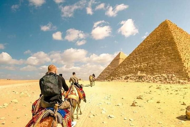 Full DAY TOUR TO GIZA PYRAMIDS WITH CAMEL RIDE AND EGYPTIAN MUSEUM IN CAIRO photo 9