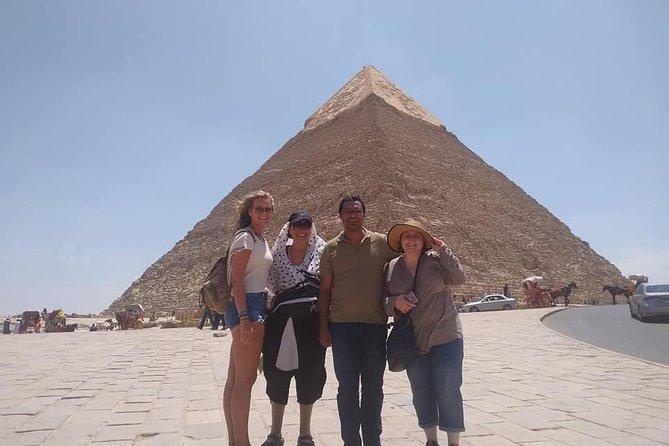Excursion from Cairo to the pyramids, Sakkara, Memphis.