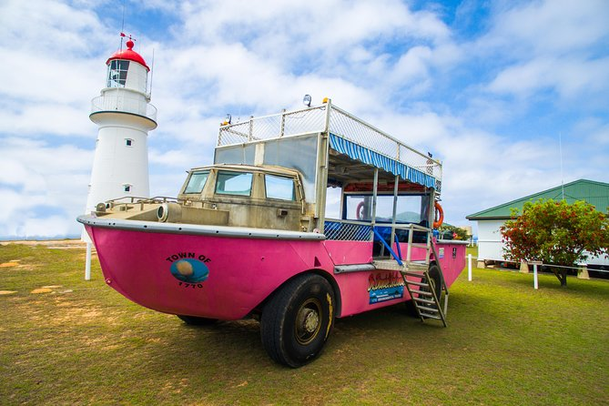 Full-Day 1770 Tour by LARC Amphibious Vehicle Including Sandboarding and Bustard Head Lightstation photo 3