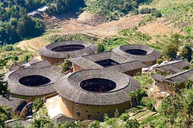 Xiamen Private Day Tour to Tianluokeng Tulou and Yunshuiyao Ancient Village