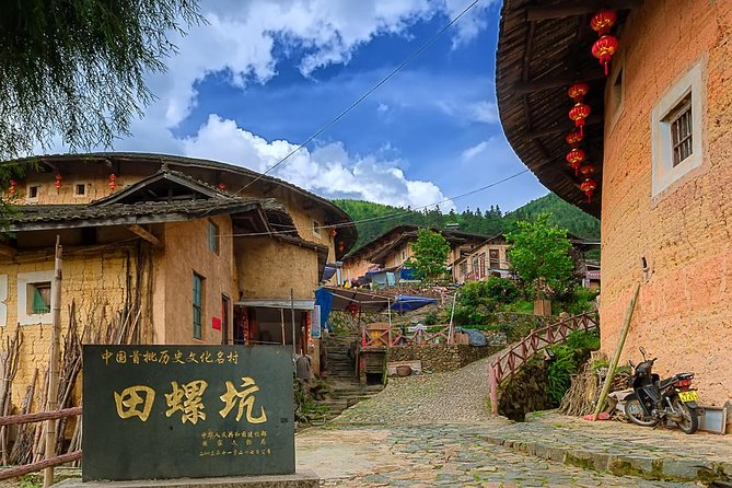 Xiamen Private Day Tour to Tianluokeng Tulou Cluster and Hongkeng Tulou photo 1
