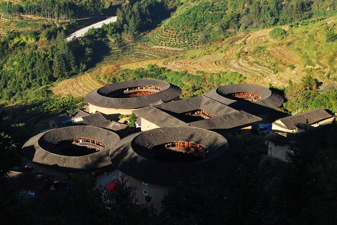 Xiamen Private Day Tour to Tianluokeng Tulou Cluster and Hongkeng Tulou photo 4