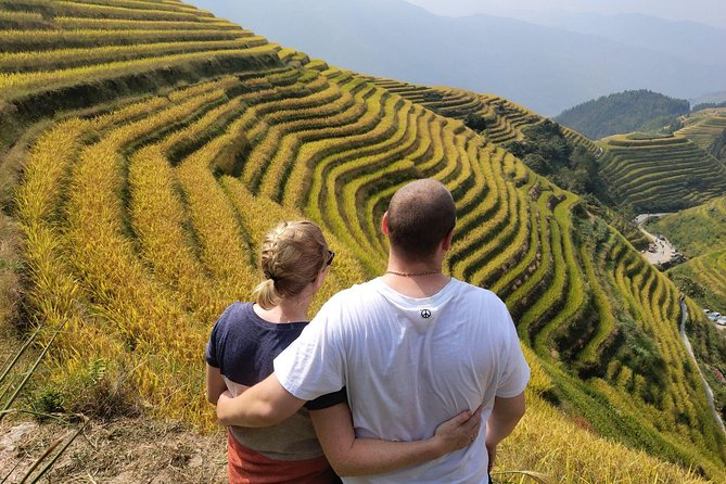 2-Day Private Tour: Longji Rice Terraces and Ziyuan Bajiaozhai Geography Park