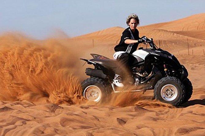 60-Minutes Quad Bike In Red Dunes (Self Drive)