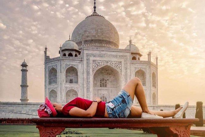Same Day Taj Sunrise Tour From Delhi