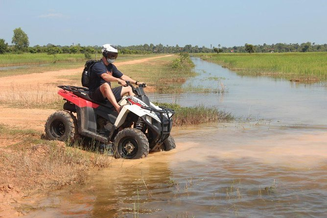 Siem Reap Quad Bike Countryside Tour for 3 hours Driving