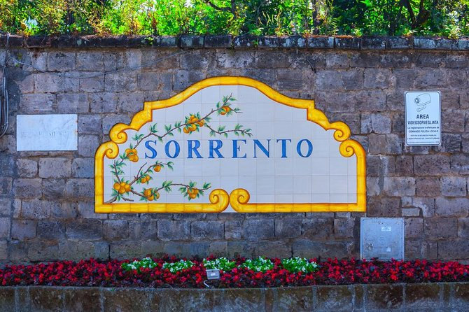 Sorrento & Pompeii With Skip The Line Tickets From Naples Port