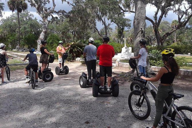 Savannah Bonaventure Cemetery Segway and E-Bike Tour