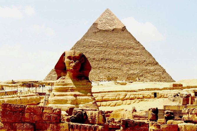 Cairo layover Tour to Giza Pyramids and Felucca Ride on Nile from Cairo airport