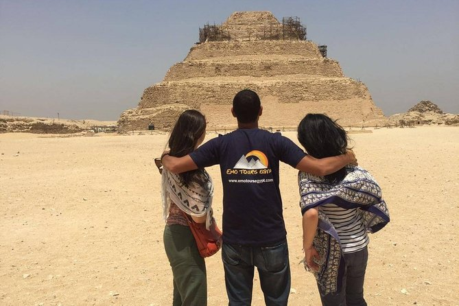 Half-Day Tour from Cairo: Dahshur Pyramids Sakkara and Memphis City photo 2
