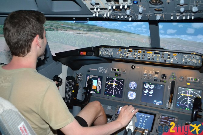 One Hour with B737NG Flight Simulator