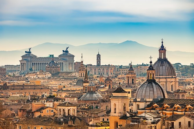 Rome in a Day Group Tour: Colosseum, City Centre Walking Tour & Vatican Museum