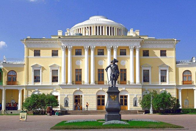 Pavlovsk Palace & Park Private Tour