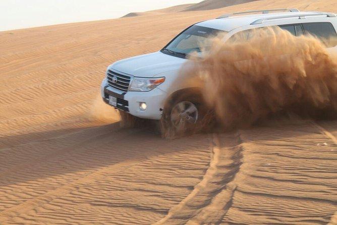 Evening Desert Safari With Quad Bike,Camel Ride,BBQ Dinner