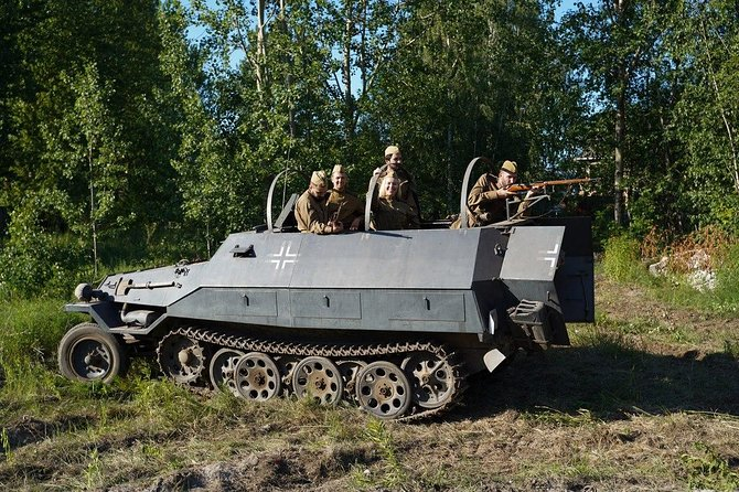 Real Tank Ride In Riga