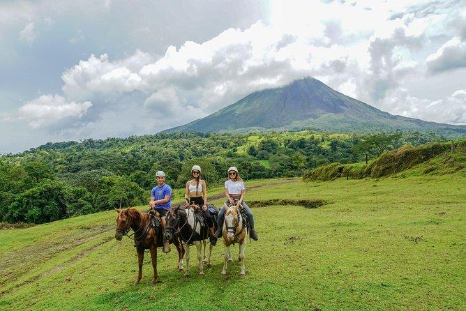 Tubbing Arenal River & Horseback Ride Adventure
